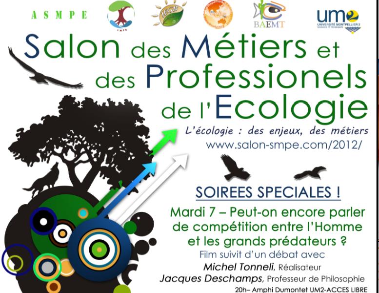 Salon des métiers et des professionnels de l'écologie, les 7-8-9 février 2012 à Montpellier