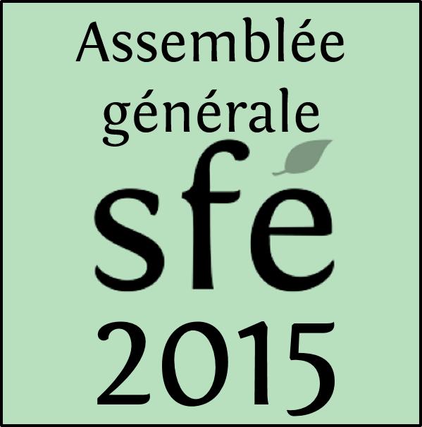 Assemblée générale 2015 de la SFE, le 5 février 2016 à Montpellier