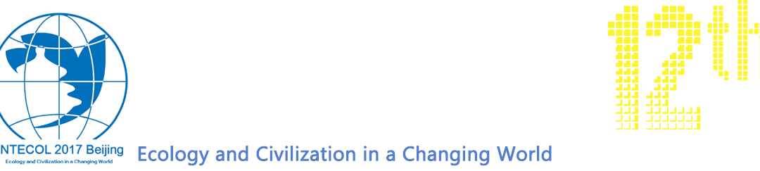 INTECOL 2017 – Beijing, China, August 20-25
