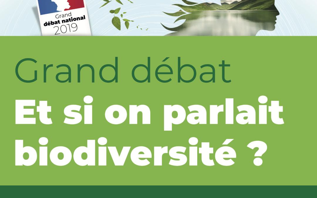 [Événement] Lundi 11 Mars, 19h, GRAND DEBAT : Et si on parlait biodiversité