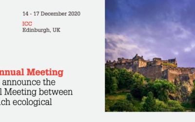 Joint BES-SFE Meeting, 14-17 December 2020, Edinburgh, UK