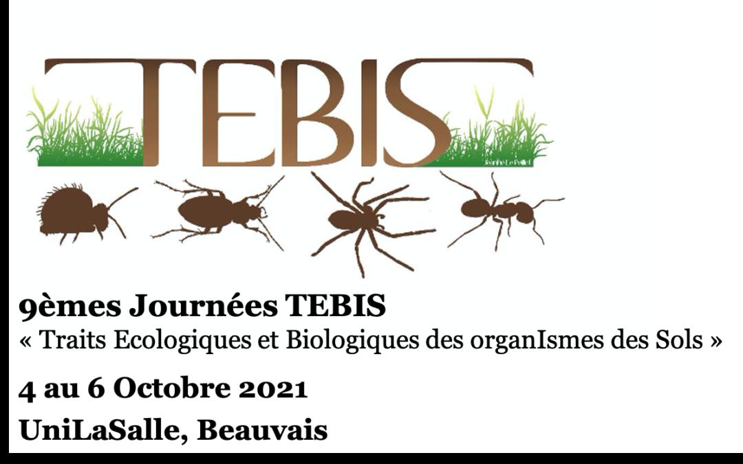 [TEBIS] Appel à communications – 9èmes journées TEBIS du 04 au 06/10/21 – extension des inscriptions